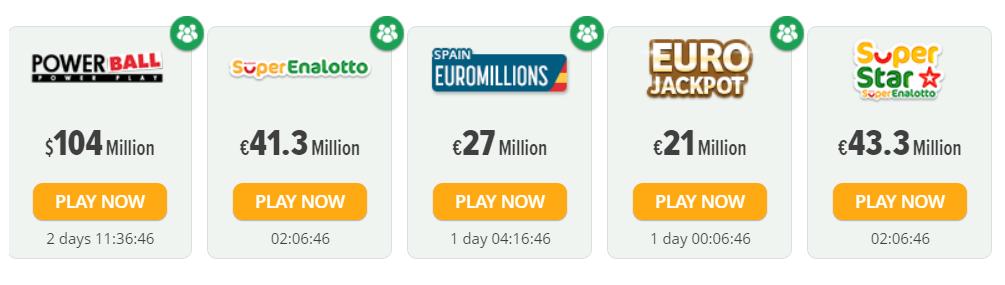 Lottosmile's Lotteries in India
