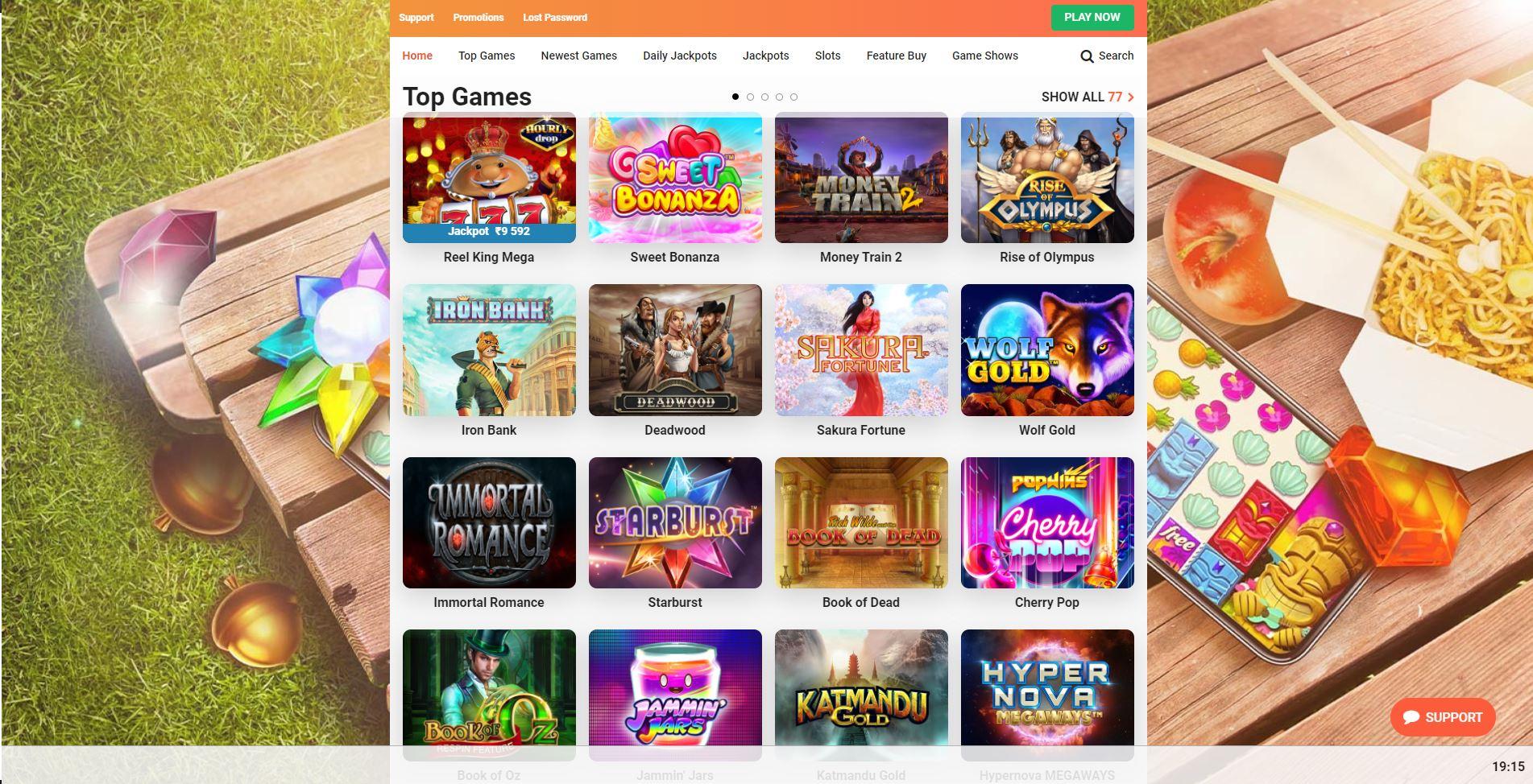 LeoVegas Online Casino Review India