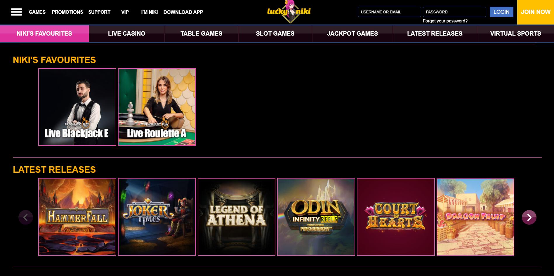 LuckyNiki Indian Casino