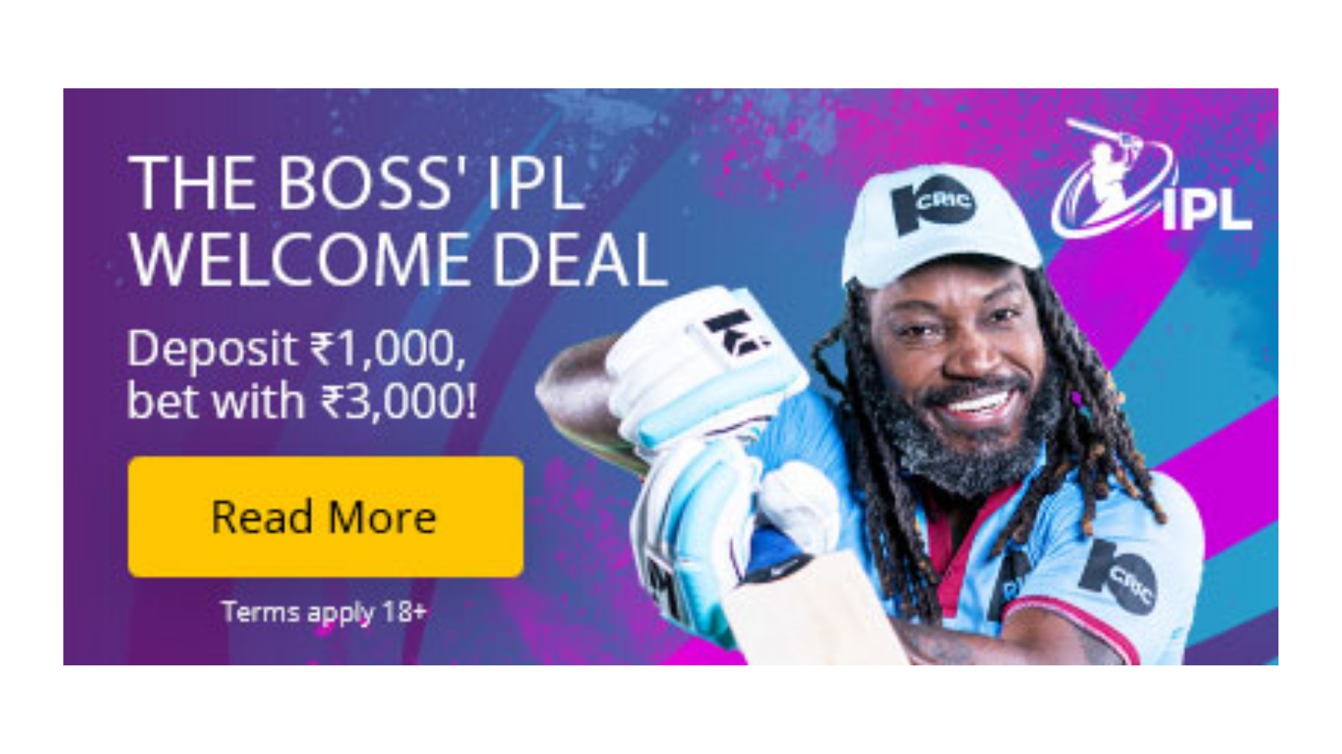 """Featured image for """"10Cric partners with Chris Gayle to bring brand new offers to its players"""""""